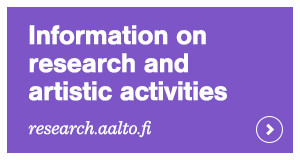 ACRIS research portal Aalto University